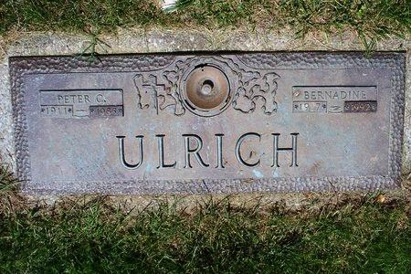 ULRICH, BERNADINE - Franklin County, Ohio | BERNADINE ULRICH - Ohio Gravestone Photos