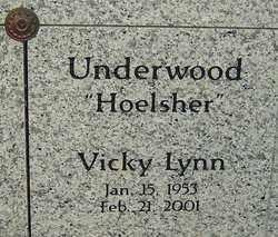 UNDERWOOD, VICKY LYNN - Franklin County, Ohio   VICKY LYNN UNDERWOOD - Ohio Gravestone Photos