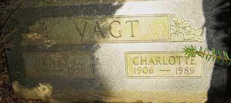 FLORKEY VAGT, CHARLOTTE - Franklin County, Ohio | CHARLOTTE FLORKEY VAGT - Ohio Gravestone Photos