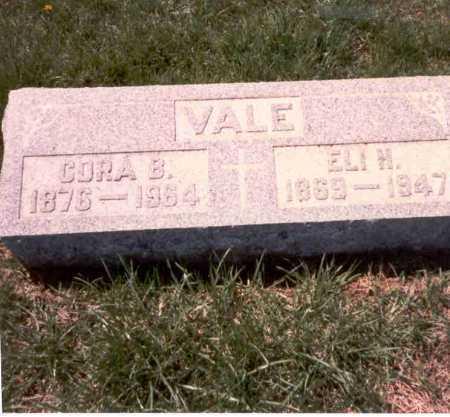 HAYES VALE, CORA B. - Franklin County, Ohio | CORA B. HAYES VALE - Ohio Gravestone Photos