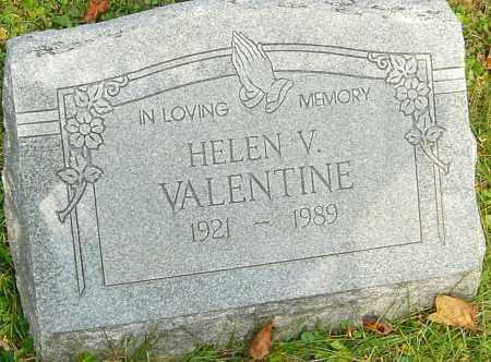 VALENTINE, HELEN - Franklin County, Ohio | HELEN VALENTINE - Ohio Gravestone Photos