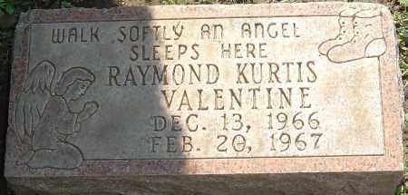 VALENTINE, RAYMOND KURTIS - Franklin County, Ohio   RAYMOND KURTIS VALENTINE - Ohio Gravestone Photos