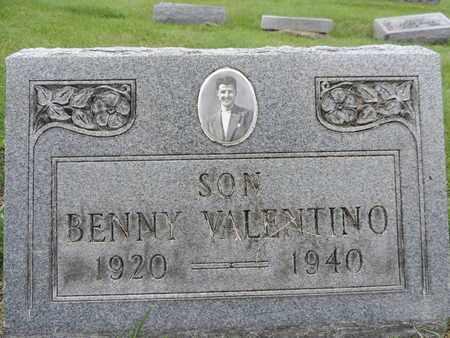 VALENTINO, BENNY - Franklin County, Ohio | BENNY VALENTINO - Ohio Gravestone Photos