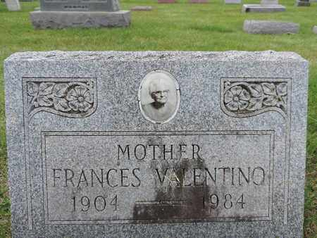 VALENTINO, FRANCES - Franklin County, Ohio | FRANCES VALENTINO - Ohio Gravestone Photos
