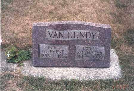 VAN GUNDY, CLEMENT - Franklin County, Ohio | CLEMENT VAN GUNDY - Ohio Gravestone Photos