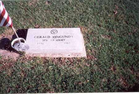 VAN GUNDY, GERALD - Franklin County, Ohio | GERALD VAN GUNDY - Ohio Gravestone Photos