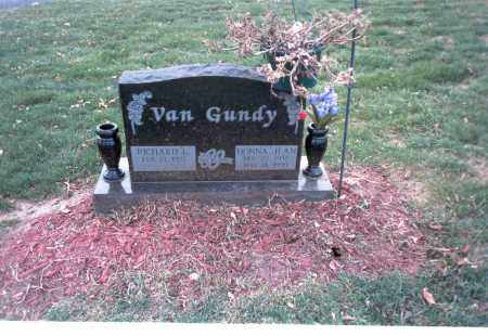 SHELL VAN GUNDY, DONNA JEAN - Franklin County, Ohio | DONNA JEAN SHELL VAN GUNDY - Ohio Gravestone Photos