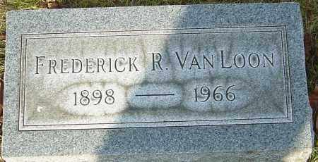 VAN LOON, FREDERICK R - Franklin County, Ohio | FREDERICK R VAN LOON - Ohio Gravestone Photos