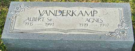 VANDERKAMP SR., ALBERT - Franklin County, Ohio | ALBERT VANDERKAMP SR. - Ohio Gravestone Photos