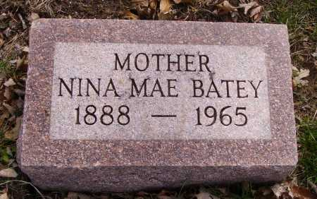 VATEY, NINA MAE - Franklin County, Ohio   NINA MAE VATEY - Ohio Gravestone Photos