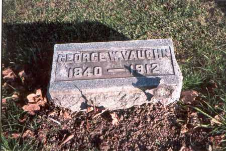 VAUGHN, GEORGE W. - Franklin County, Ohio | GEORGE W. VAUGHN - Ohio Gravestone Photos