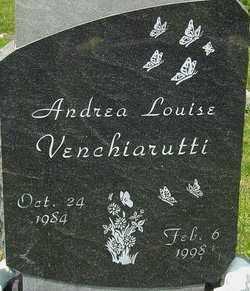 VENCHIARUTTI, ANDREA LOUISE - Franklin County, Ohio | ANDREA LOUISE VENCHIARUTTI - Ohio Gravestone Photos