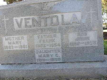 VENTDLA, FRANK - Franklin County, Ohio | FRANK VENTDLA - Ohio Gravestone Photos
