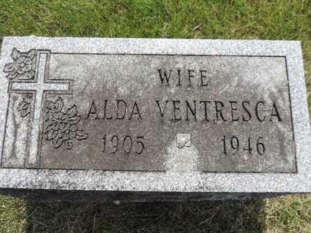 VENTRESCA, ALDA - Franklin County, Ohio   ALDA VENTRESCA - Ohio Gravestone Photos