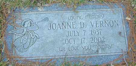 VERNON, JOANNE D - Franklin County, Ohio | JOANNE D VERNON - Ohio Gravestone Photos