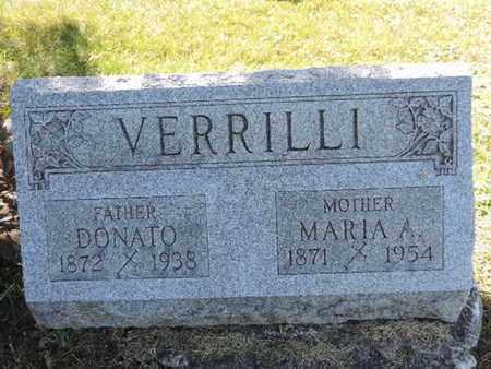 VERRLLI, MARIA A. - Franklin County, Ohio | MARIA A. VERRLLI - Ohio Gravestone Photos