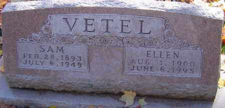 VETEL, ELLEN - Franklin County, Ohio | ELLEN VETEL - Ohio Gravestone Photos