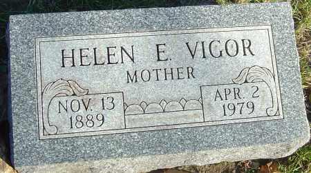 VIGOR, HELEN E - Franklin County, Ohio | HELEN E VIGOR - Ohio Gravestone Photos