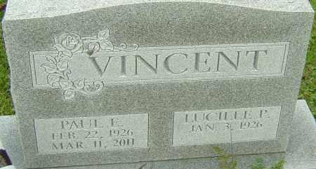VINCENT, PAUL E - Franklin County, Ohio | PAUL E VINCENT - Ohio Gravestone Photos
