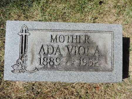 VIOLA, ADA - Franklin County, Ohio | ADA VIOLA - Ohio Gravestone Photos
