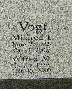 VOGT, ALFRED M - Franklin County, Ohio | ALFRED M VOGT - Ohio Gravestone Photos