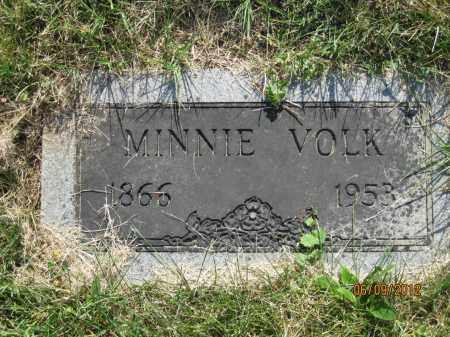 VOLK, MINNIE - Franklin County, Ohio | MINNIE VOLK - Ohio Gravestone Photos