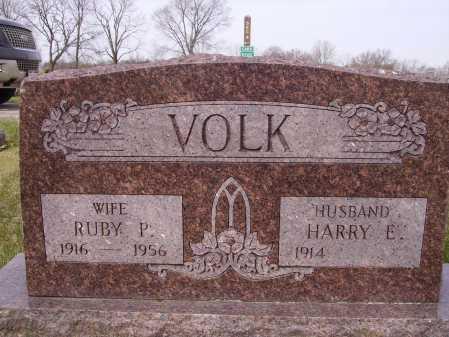 VOLK, RUBY P. - Franklin County, Ohio | RUBY P. VOLK - Ohio Gravestone Photos