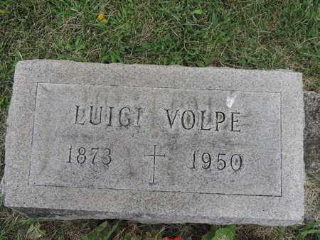 VOLPE, LUIGI - Franklin County, Ohio   LUIGI VOLPE - Ohio Gravestone Photos