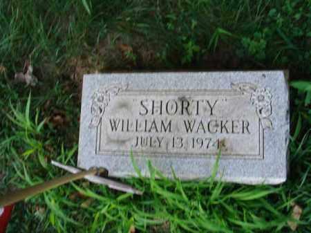 WACKER, WILLLIAM - Franklin County, Ohio   WILLLIAM WACKER - Ohio Gravestone Photos