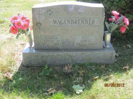 WAGENBRENNER, ERVIN J - Franklin County, Ohio | ERVIN J WAGENBRENNER - Ohio Gravestone Photos