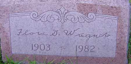 WAGNER, FLORA - Franklin County, Ohio   FLORA WAGNER - Ohio Gravestone Photos