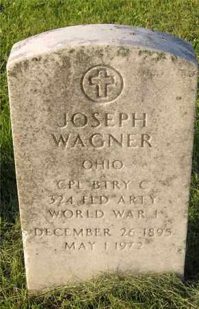 WAGNER, JOSEPH - Franklin County, Ohio | JOSEPH WAGNER - Ohio Gravestone Photos
