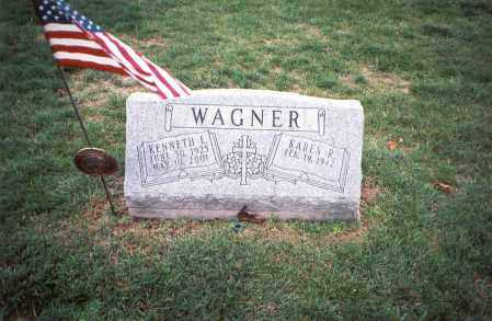 WAGNER, KENNETH E. - Franklin County, Ohio | KENNETH E. WAGNER - Ohio Gravestone Photos