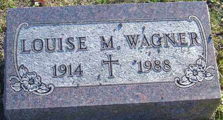 WAGNER, LOUISE M - Franklin County, Ohio | LOUISE M WAGNER - Ohio Gravestone Photos