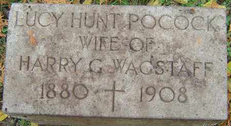 WAGSTAFF, LUCY HUNT - Franklin County, Ohio | LUCY HUNT WAGSTAFF - Ohio Gravestone Photos