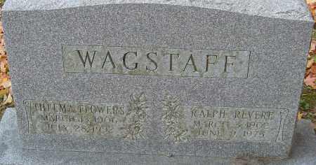 FLOWERS WAGSTAFF, THELMA - Franklin County, Ohio | THELMA FLOWERS WAGSTAFF - Ohio Gravestone Photos