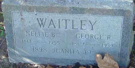 WAITLEY, JUANITA - Franklin County, Ohio | JUANITA WAITLEY - Ohio Gravestone Photos