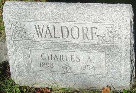 WALDORF, CHARLES ALFRED - Franklin County, Ohio | CHARLES ALFRED WALDORF - Ohio Gravestone Photos