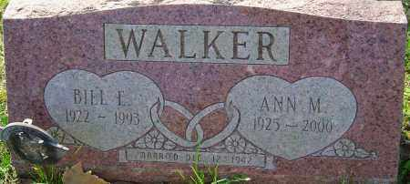 WALKER, ANN M - Franklin County, Ohio | ANN M WALKER - Ohio Gravestone Photos