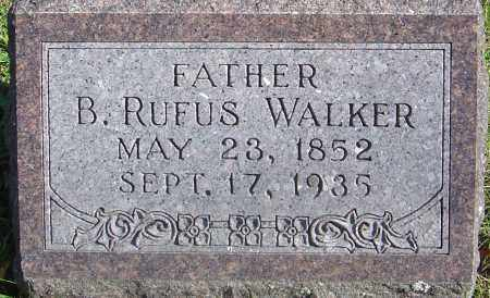 WALKER, BENJAMIN RUFUS - Franklin County, Ohio | BENJAMIN RUFUS WALKER - Ohio Gravestone Photos