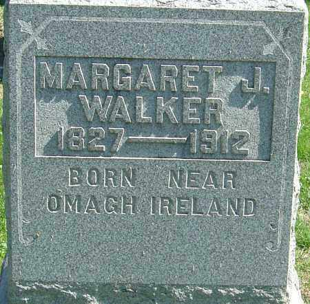 WALKER, MARGARET J - Franklin County, Ohio | MARGARET J WALKER - Ohio Gravestone Photos