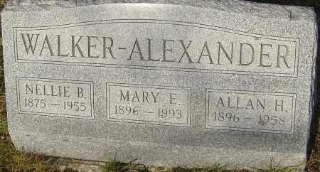 ALEXANDER, MARY E - Franklin County, Ohio | MARY E ALEXANDER - Ohio Gravestone Photos