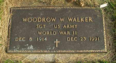WALKER, WOODROW W. - Franklin County, Ohio   WOODROW W. WALKER - Ohio Gravestone Photos
