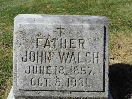 WALSH, JOHN - Franklin County, Ohio | JOHN WALSH - Ohio Gravestone Photos