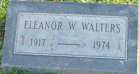WALTERS, ELEANOR - Franklin County, Ohio | ELEANOR WALTERS - Ohio Gravestone Photos