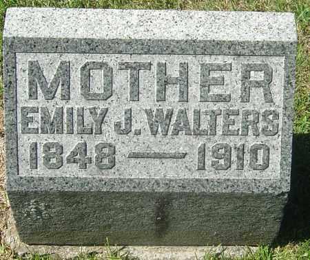 WALTERS, EMILY J - Franklin County, Ohio | EMILY J WALTERS - Ohio Gravestone Photos
