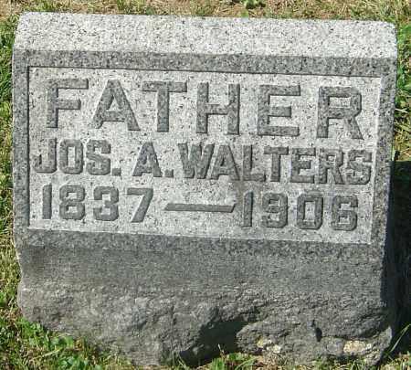 WALTERS, JOSEPH A - Franklin County, Ohio   JOSEPH A WALTERS - Ohio Gravestone Photos