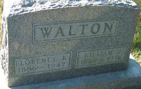 WALTON, FLORENCE KATE - Franklin County, Ohio | FLORENCE KATE WALTON - Ohio Gravestone Photos