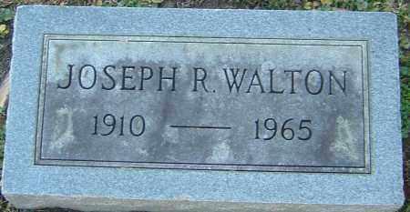 WALTON, JOSEPH R - Franklin County, Ohio   JOSEPH R WALTON - Ohio Gravestone Photos