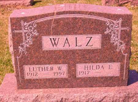 WALZ, LUTHER W. - Franklin County, Ohio | LUTHER W. WALZ - Ohio Gravestone Photos